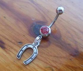 Horseshoe Belly Ring
